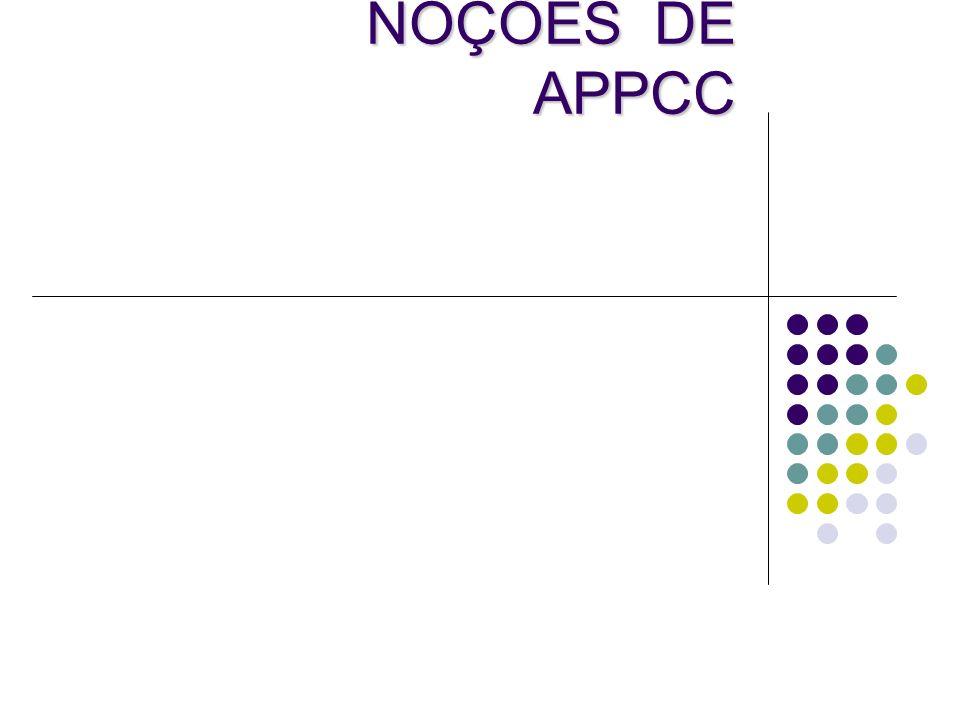 NOÇÕES DE APPCC