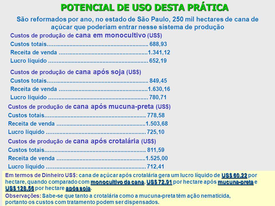 POTENCIAL DE USO DESTA PRÁTICA
