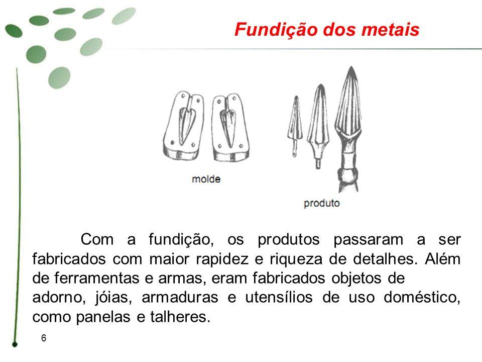 Fundição dos metais