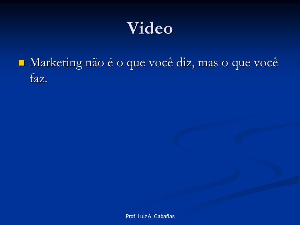 Video Marketing não é o que você diz, mas o que você faz.