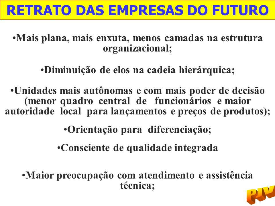 RETRATO DAS EMPRESAS DO FUTURO