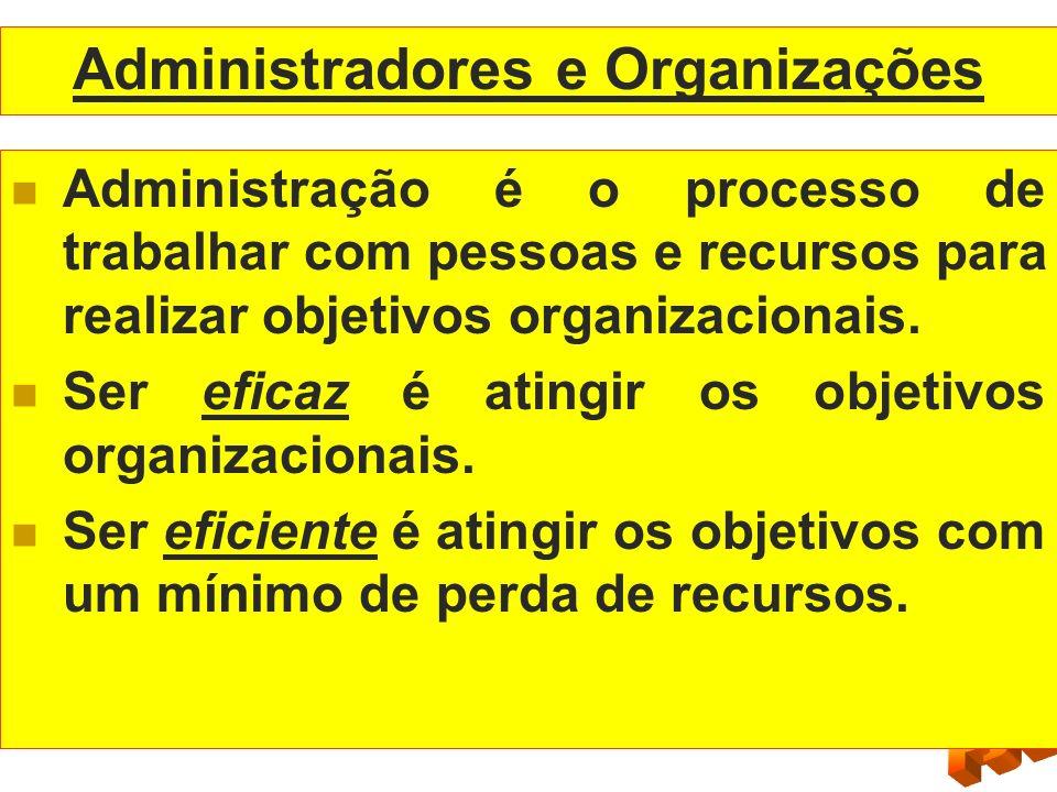Administradores e Organizações