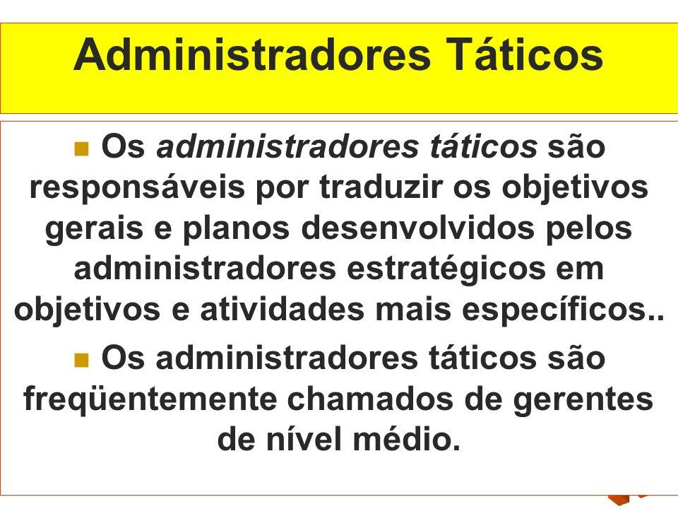Administradores Táticos