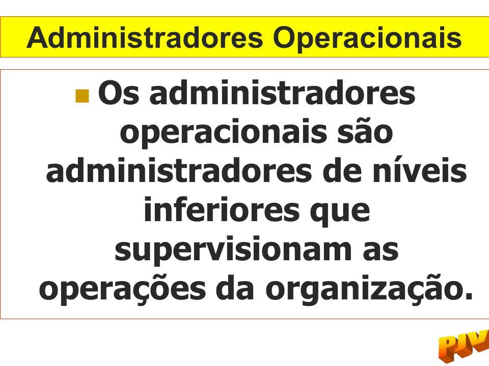 Administradores Operacionais
