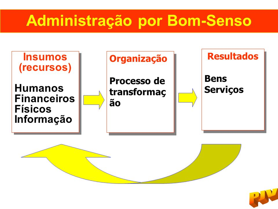 Administração por Bom-Senso