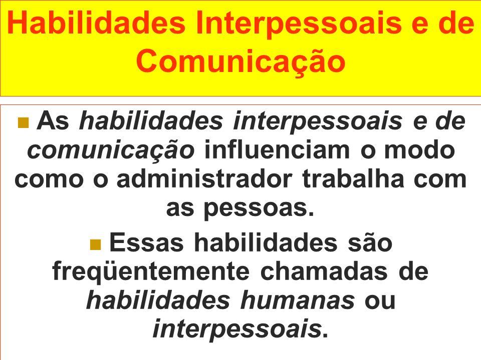 Habilidades Interpessoais e de Comunicação