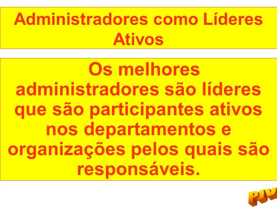 Administradores como Líderes Ativos