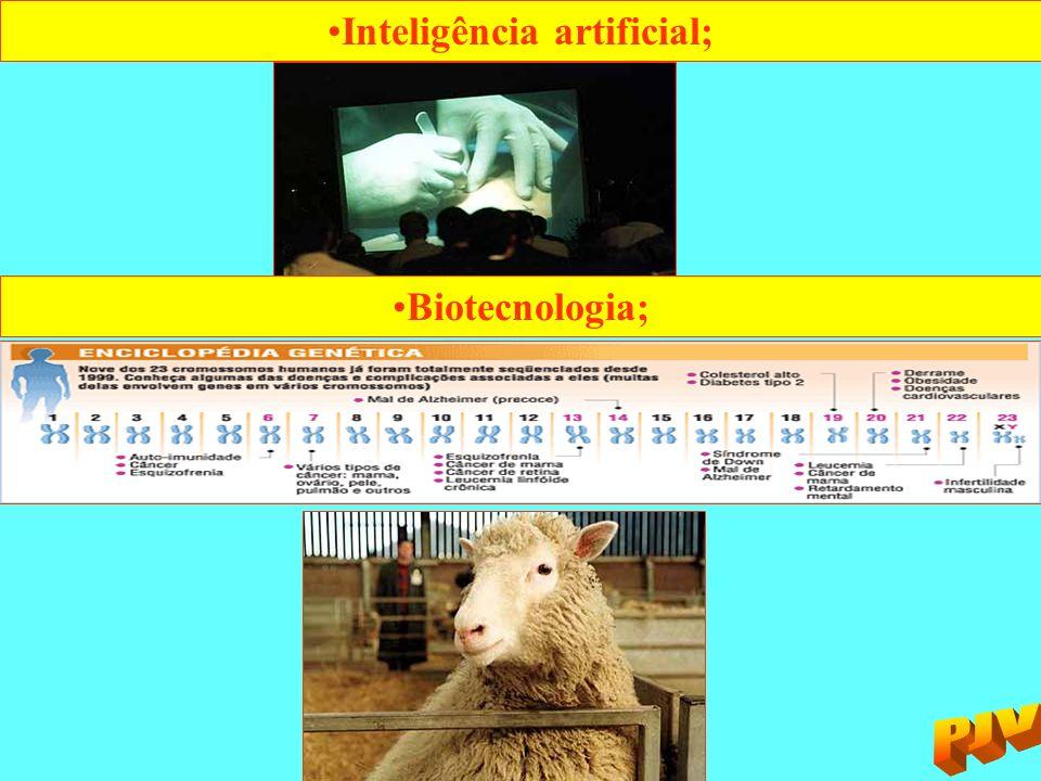 Inteligência artificial;