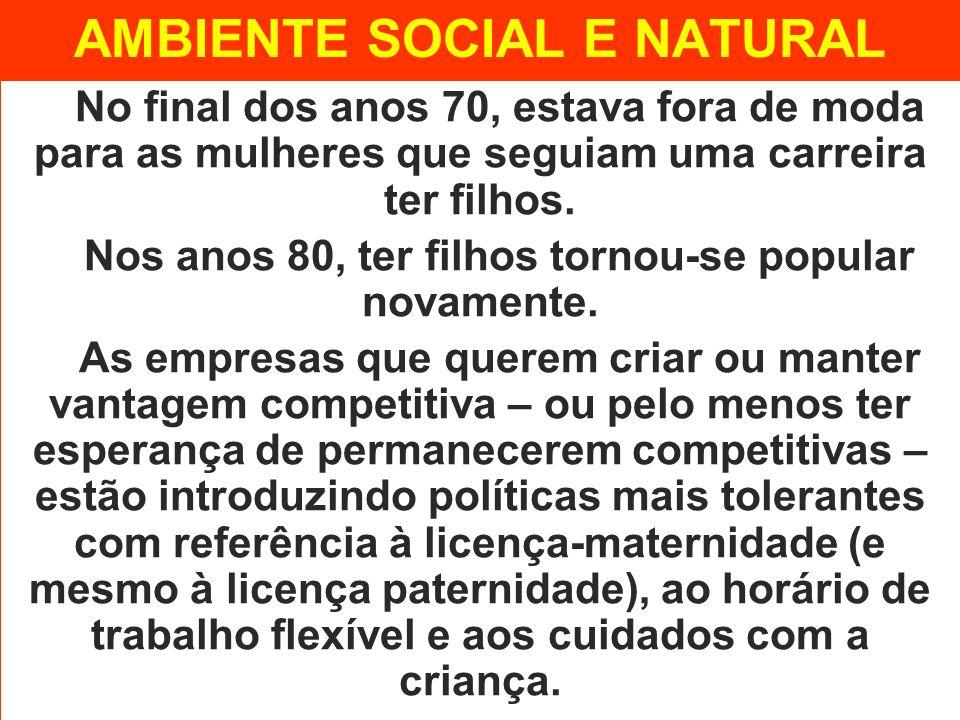 AMBIENTE SOCIAL E NATURAL