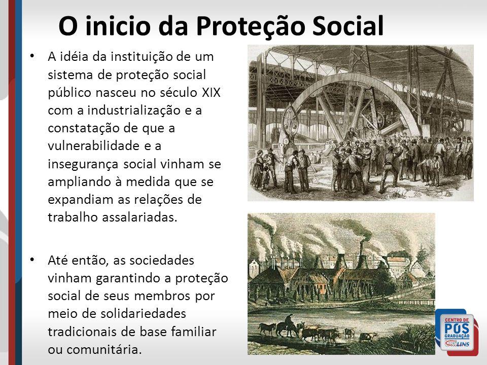 O inicio da Proteção Social