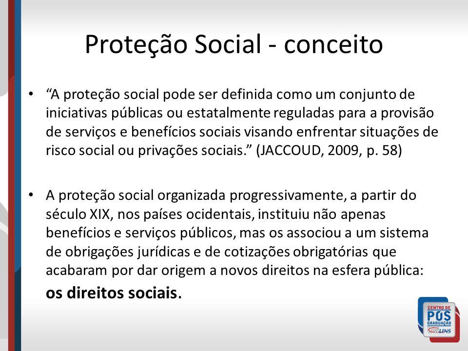 Proteção Social - conceito