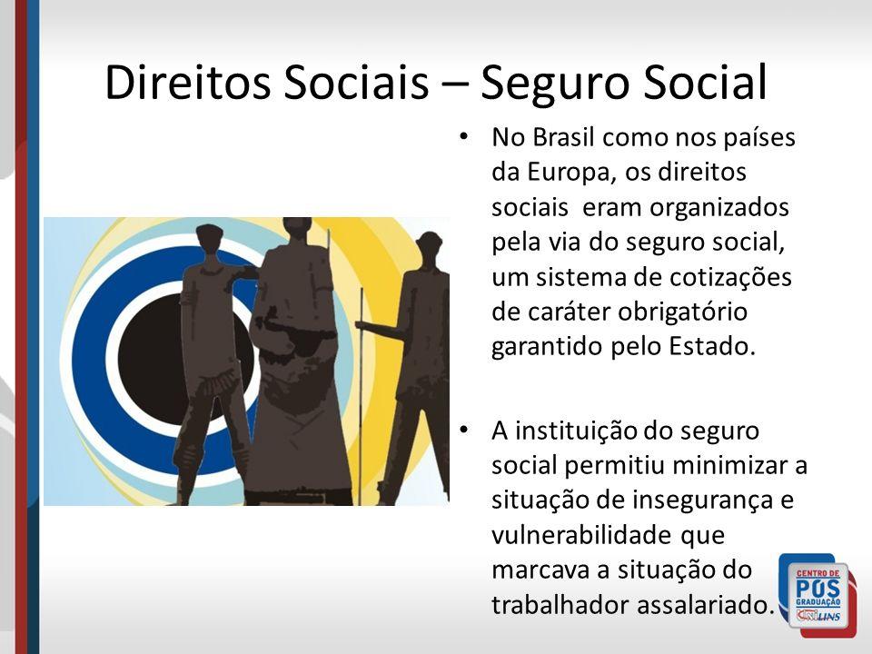 Direitos Sociais – Seguro Social