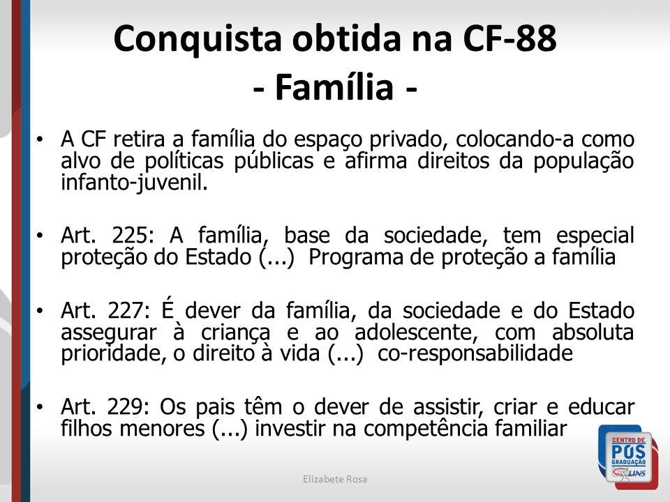 Conquista obtida na CF-88 - Família -