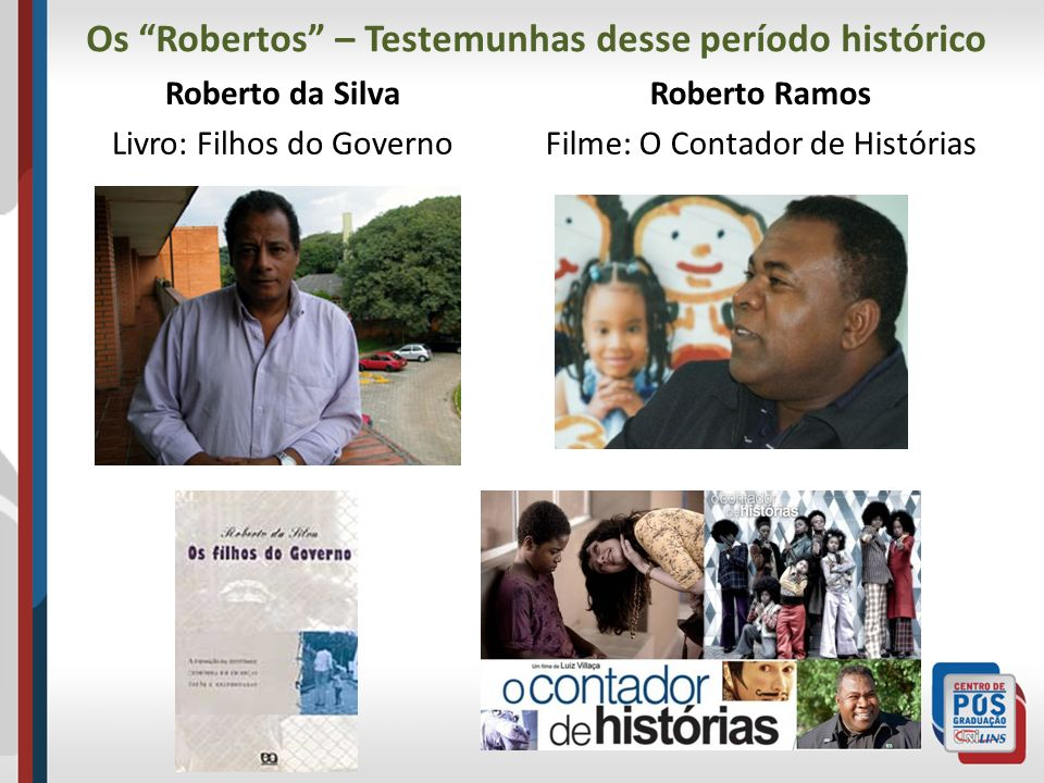 Os Robertos – Testemunhas desse período histórico