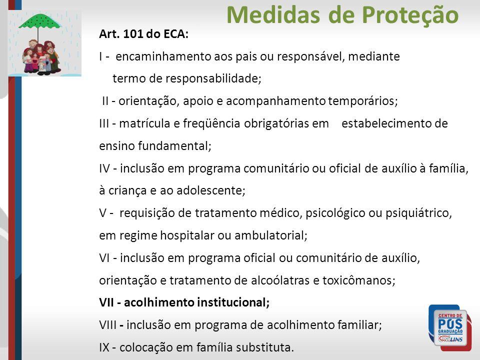 Medidas de Proteção