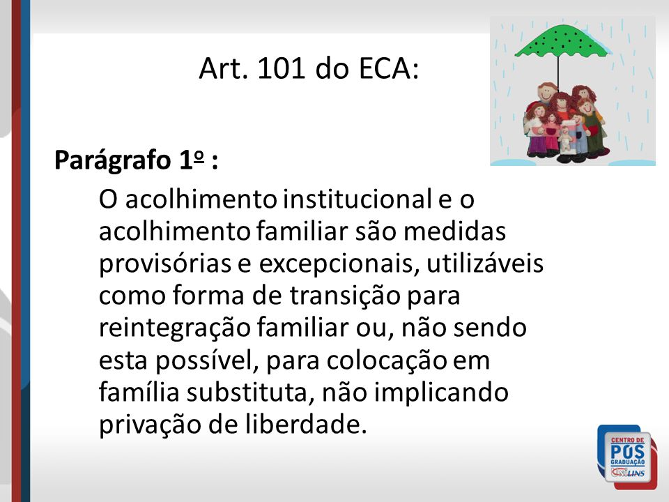Art. 101 do ECA: