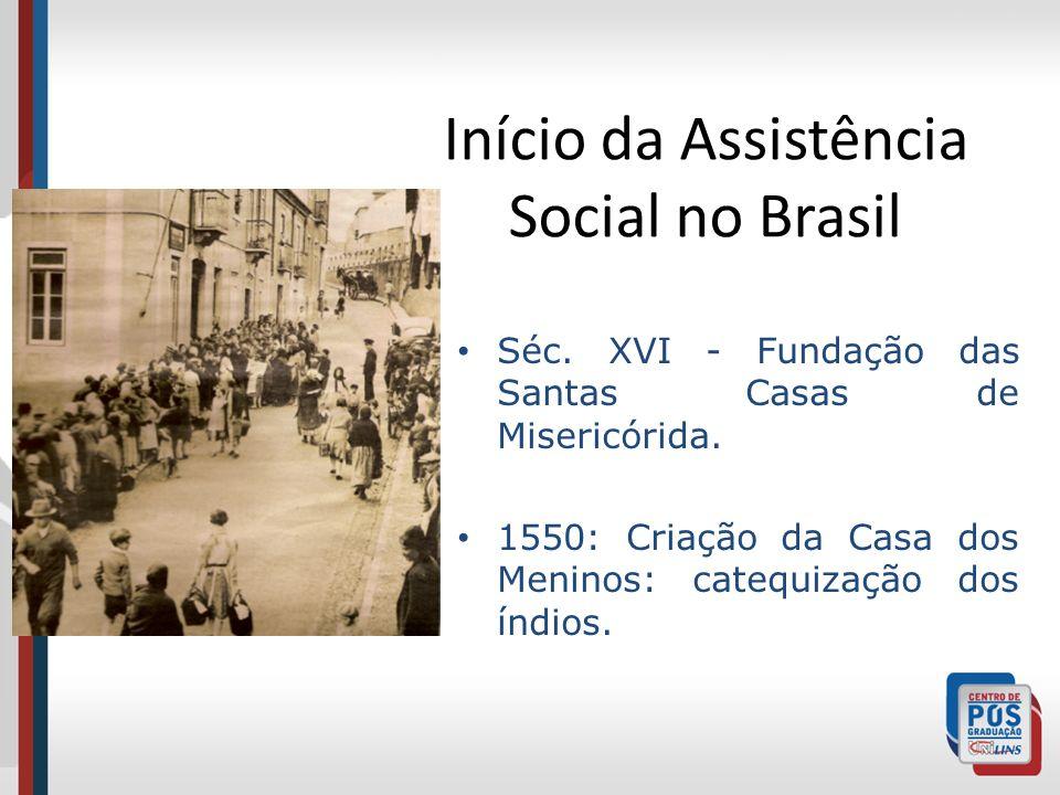 Início da Assistência Social no Brasil