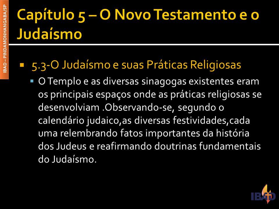 Capítulo 5 – O Novo Testamento e o Judaísmo