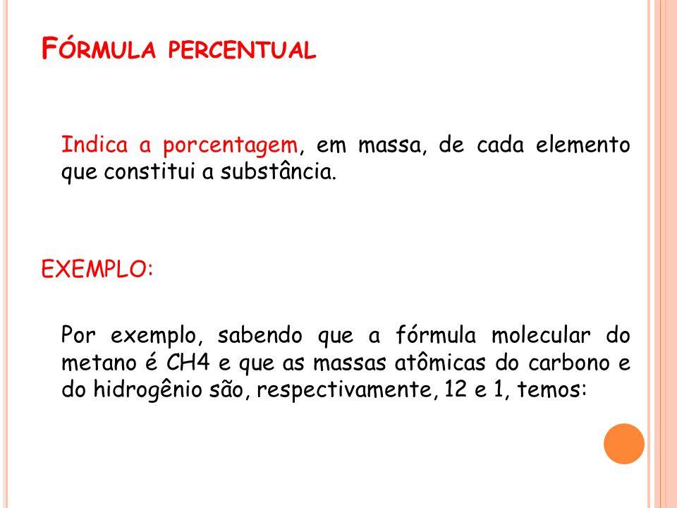 Fórmula percentual