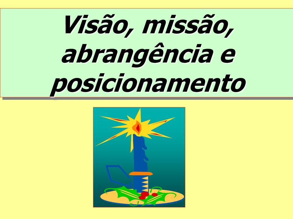 Visão, missão, abrangência e posicionamento