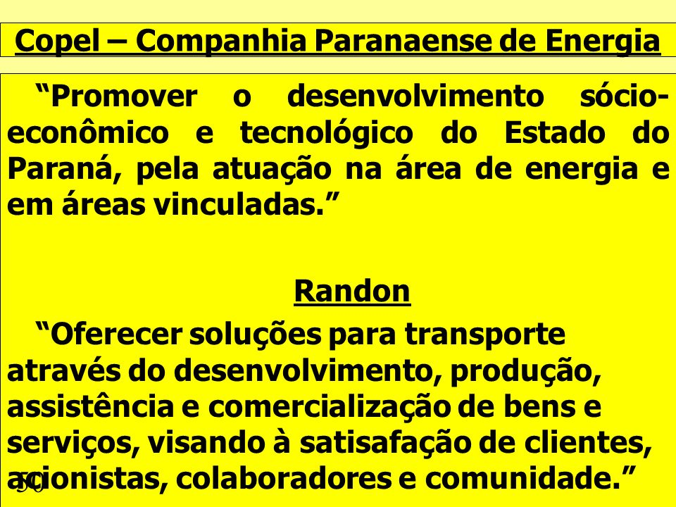Copel – Companhia Paranaense de Energia