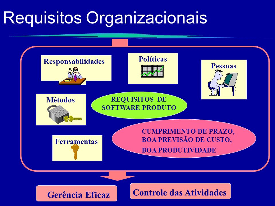 Requisitos Organizacionais