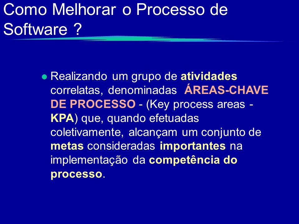 Como Melhorar o Processo de Software