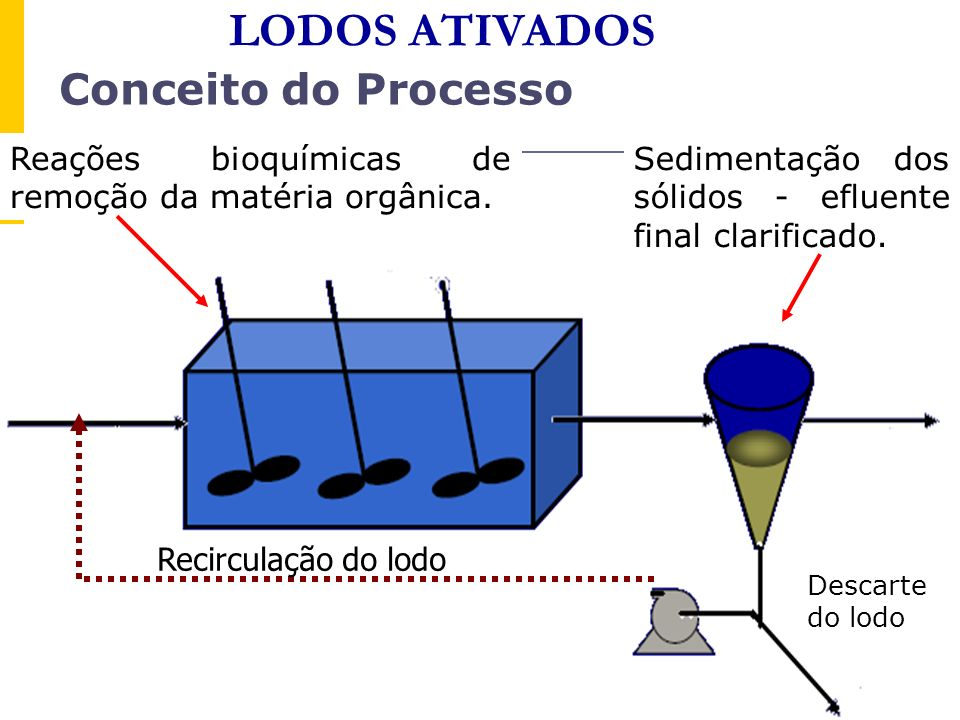LODOS ATIVADOS Conceito do Processo