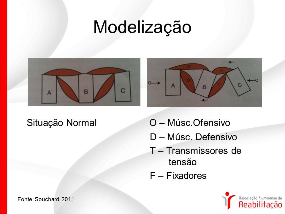 Modelização Situação Normal O – Músc.Ofensivo D – Músc. Defensivo