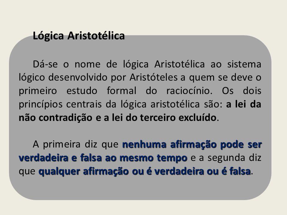 Lógica Aristotélica