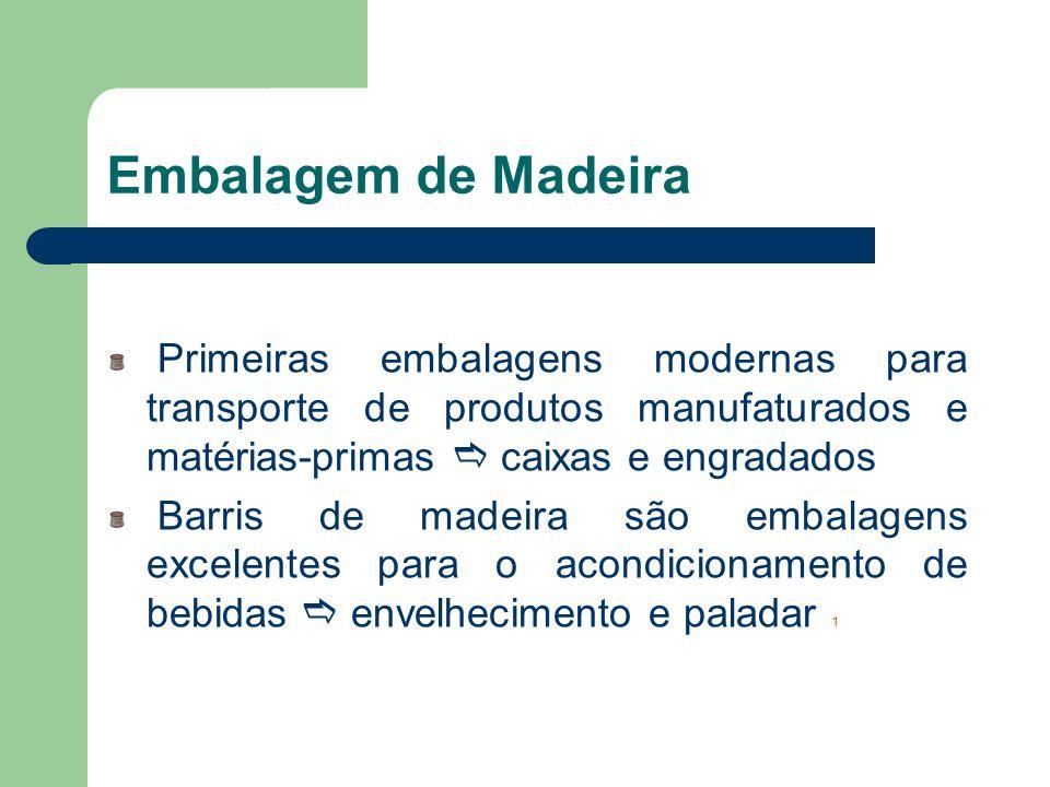 Embalagem de Madeira Primeiras embalagens modernas para transporte de produtos manufaturados e matérias-primas e caixas e engradados.