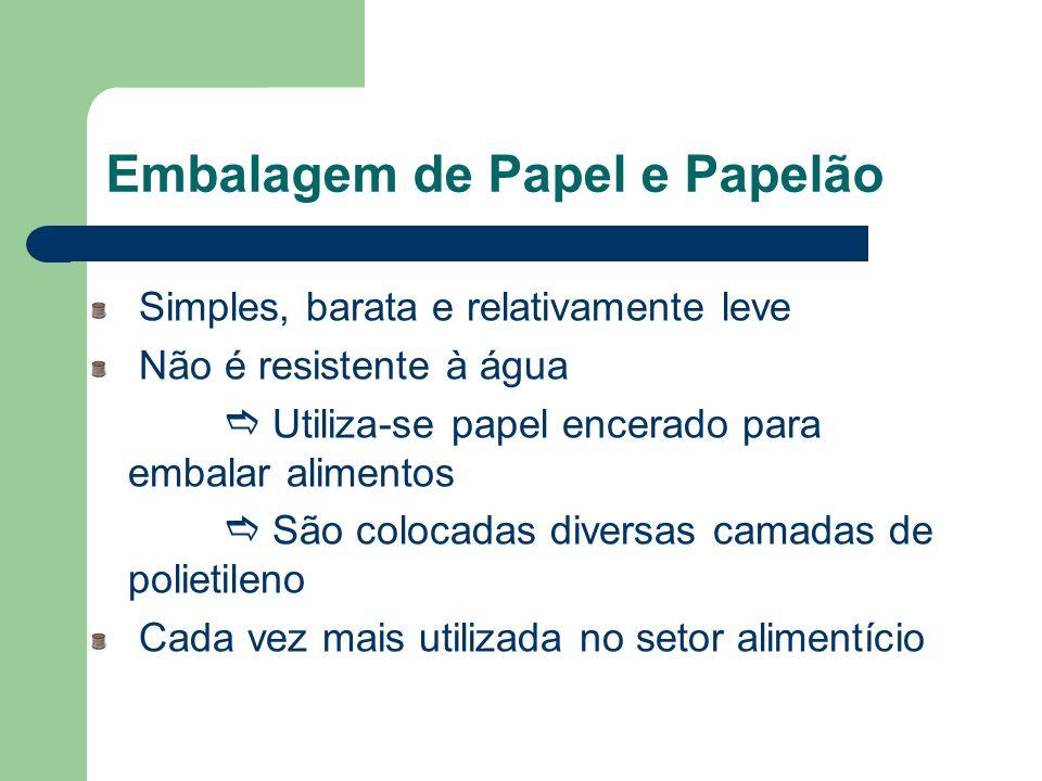 Embalagem de Papel e Papelão