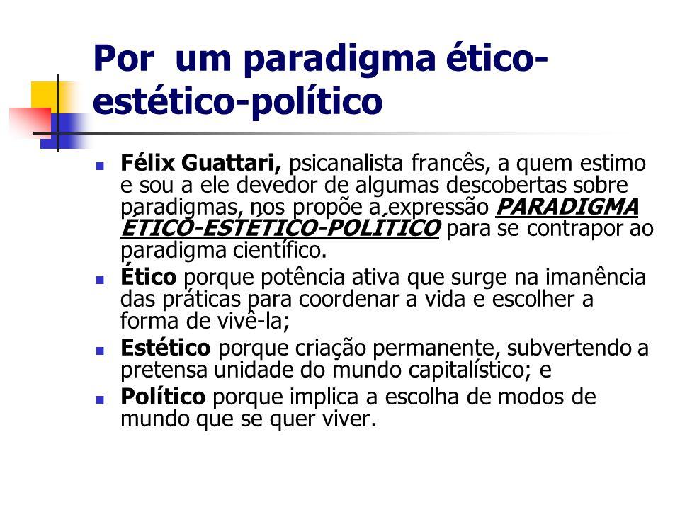Por um paradigma ético-estético-político