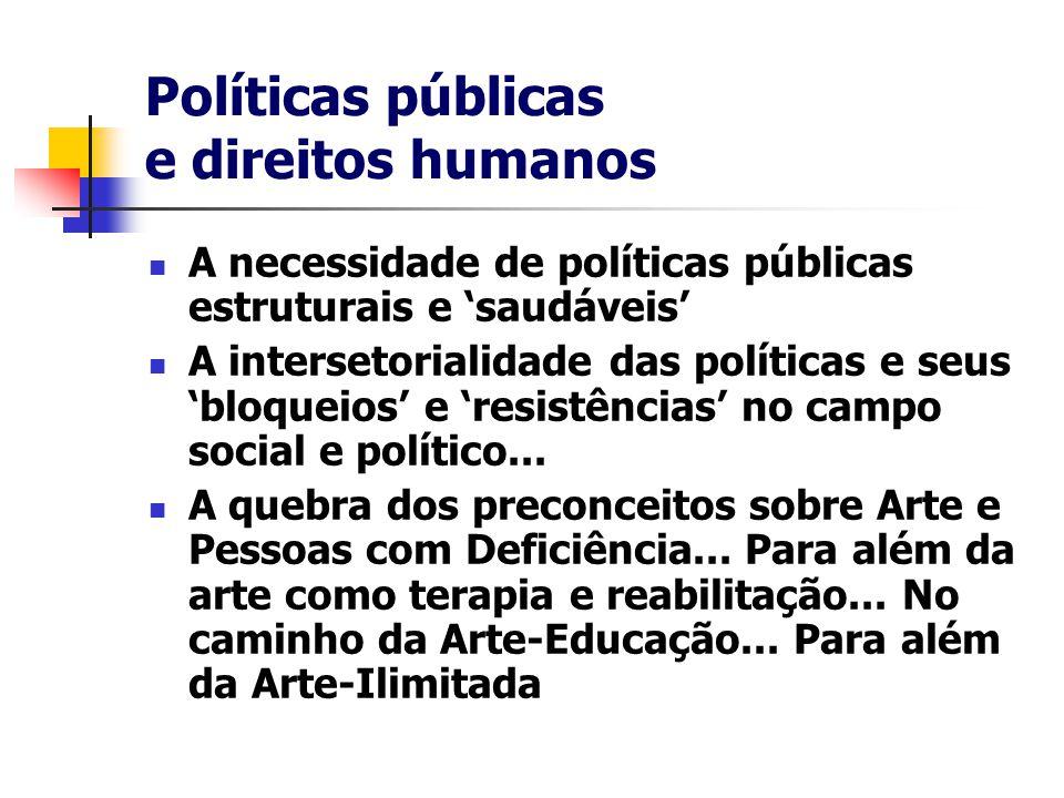Políticas públicas e direitos humanos