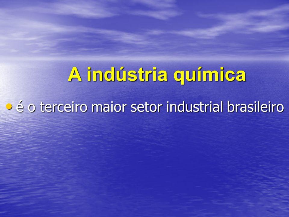 é o terceiro maior setor industrial brasileiro