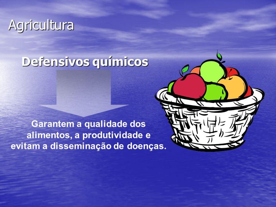 Agricultura Defensivos químicos Garantem a qualidade dos