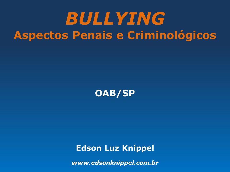 Aspectos Penais e Criminológicos