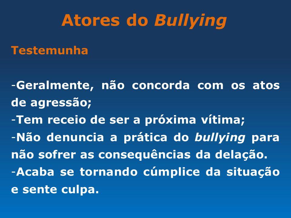 Atores do Bullying Testemunha