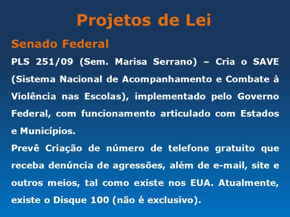 Projetos de Lei Senado Federal