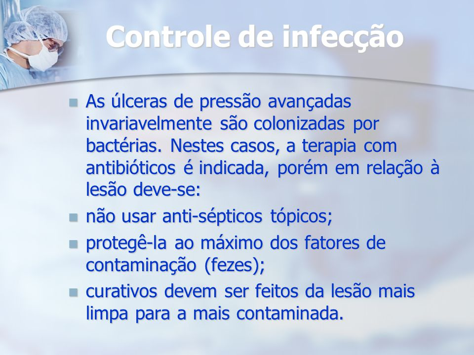 Controle de infecção