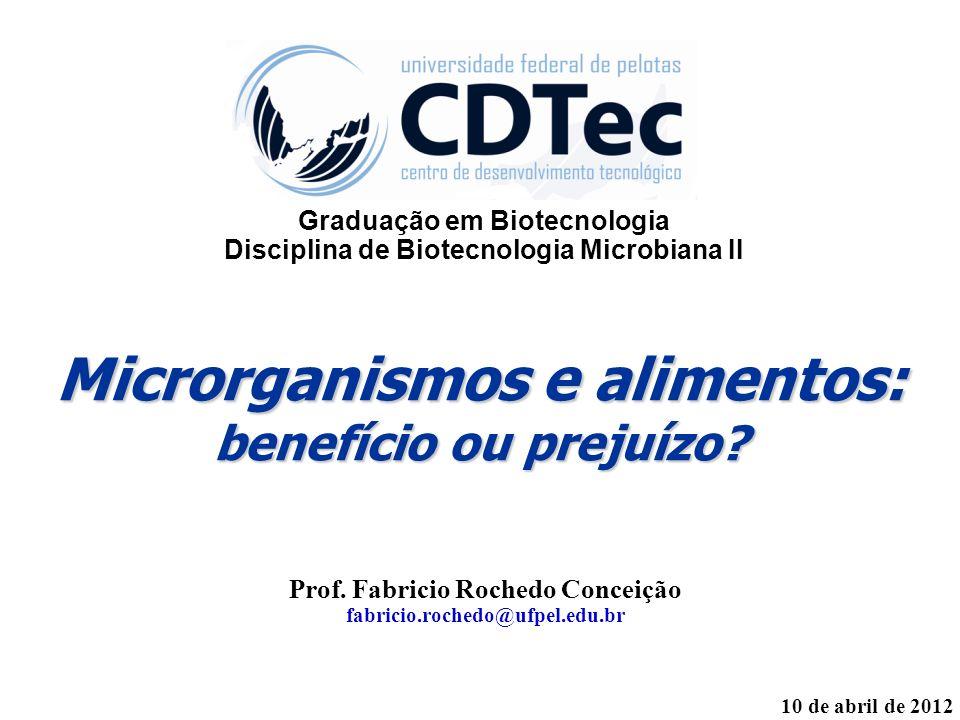 Microrganismos e alimentos: