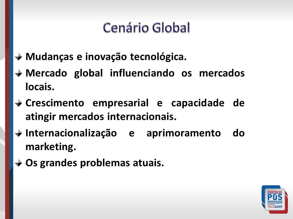Cenário Global Mudanças e inovação tecnológica.