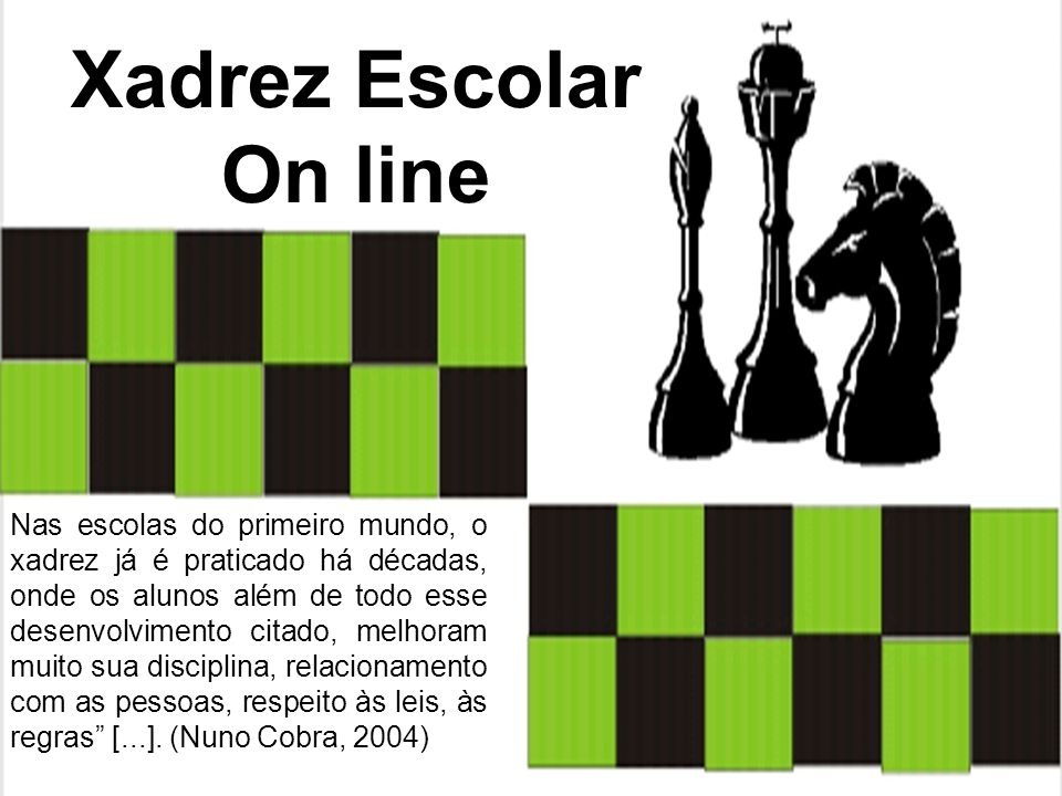 Xadrez Escolar On line