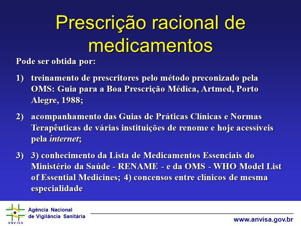 Prescrição racional de medicamentos