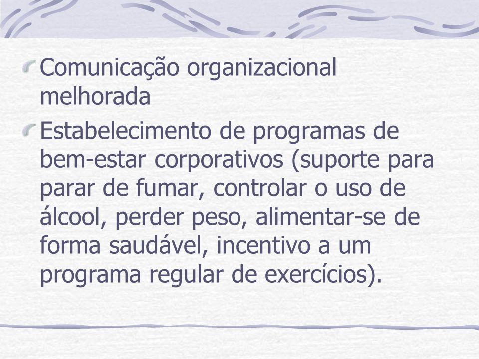 Comunicação organizacional melhorada