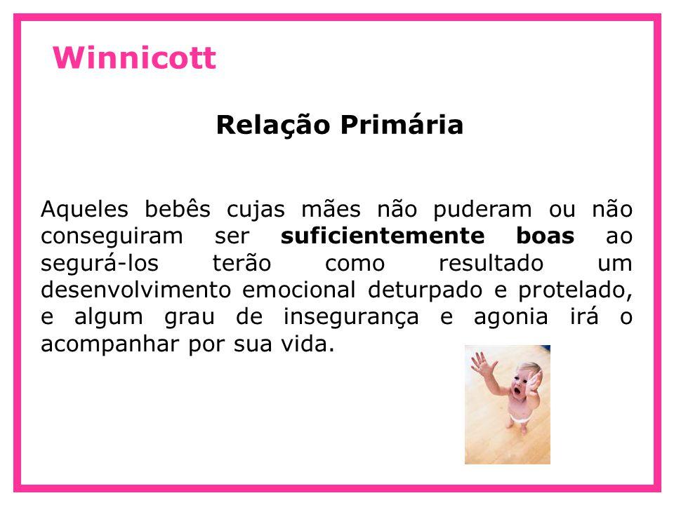 Winnicott Relação Primária