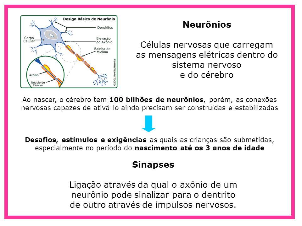 Células nervosas que carregam