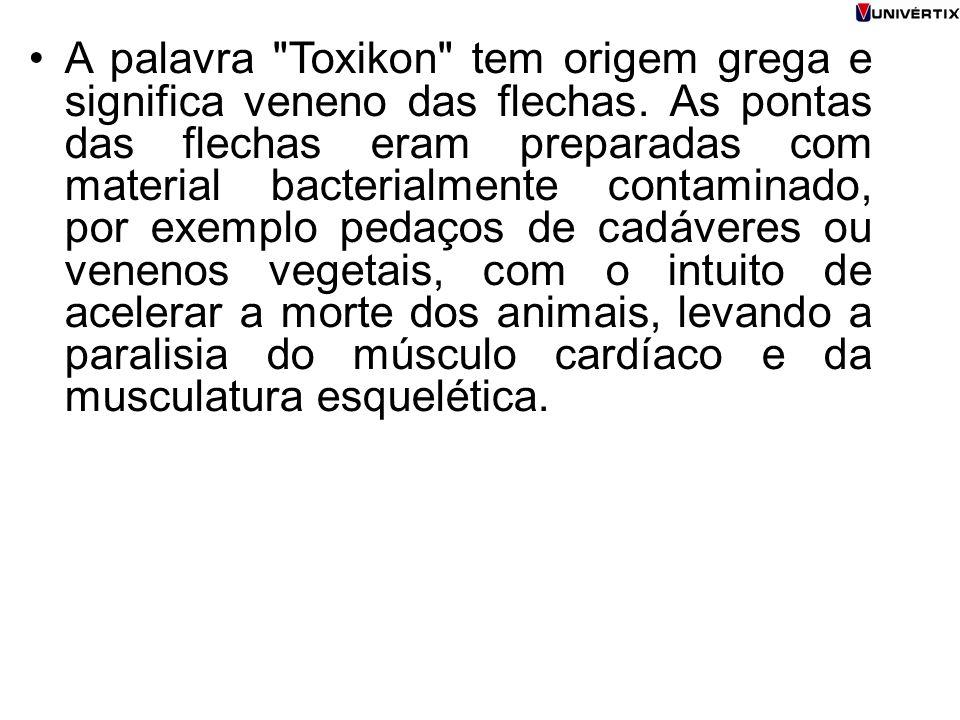 A palavra Toxikon tem origem grega e significa veneno das flechas