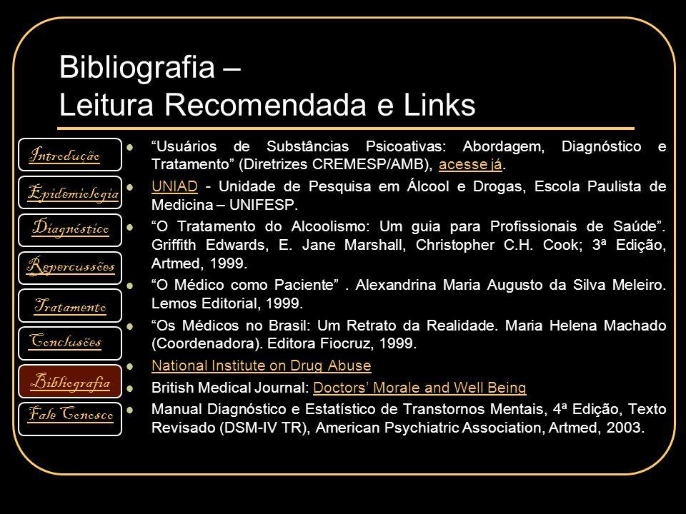 Bibliografia – Leitura Recomendada e Links