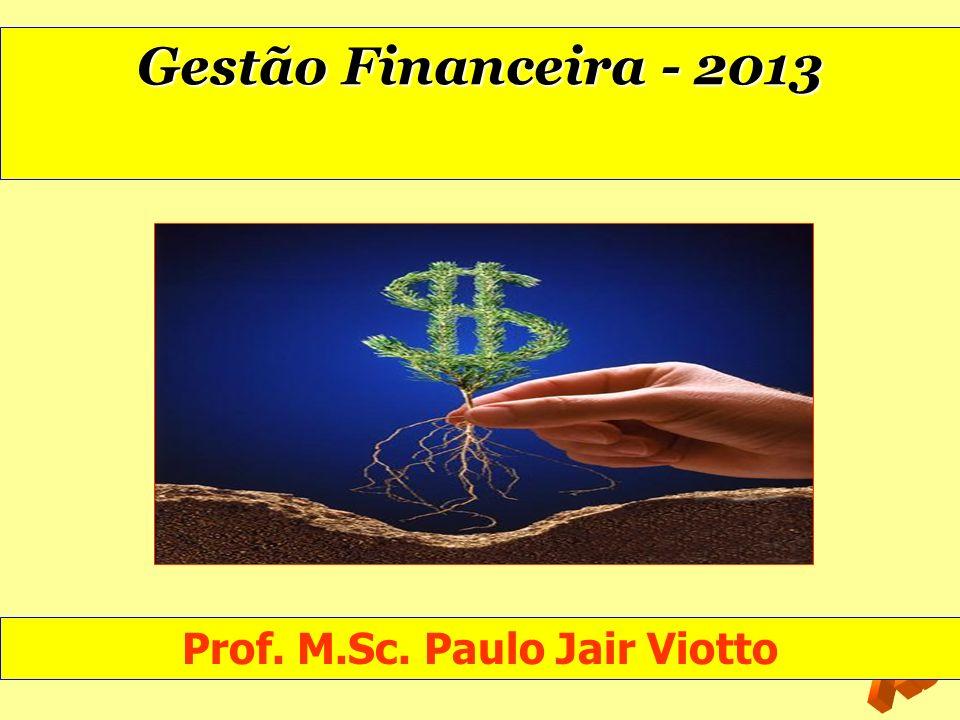 Prof. M.Sc. Paulo Jair Viotto